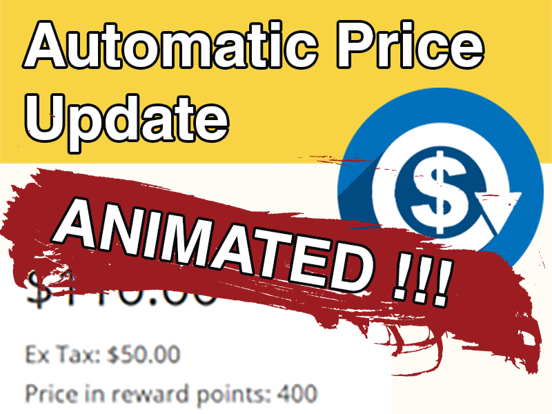 Automatic Price Update