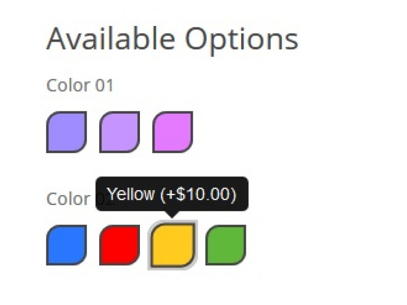 Color Options +