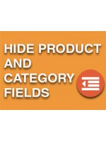 Hide Admin Products and Category Fields