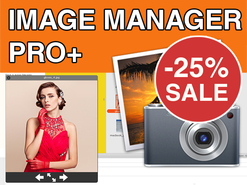Image Manager Pro+ Watermark, Resize, Ftp