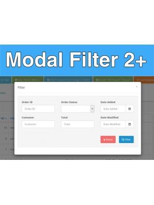 Modal Filter / Compact filter 2+