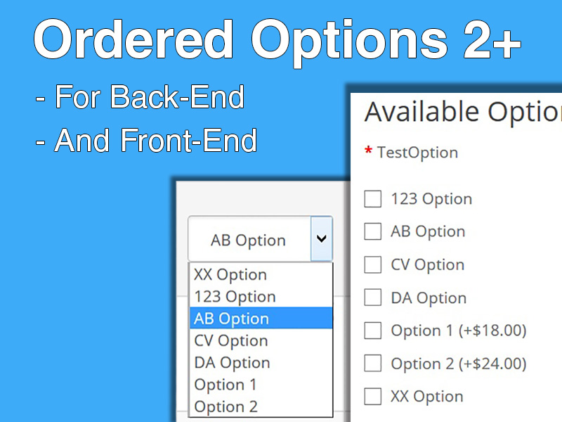 Ordered Options 2+