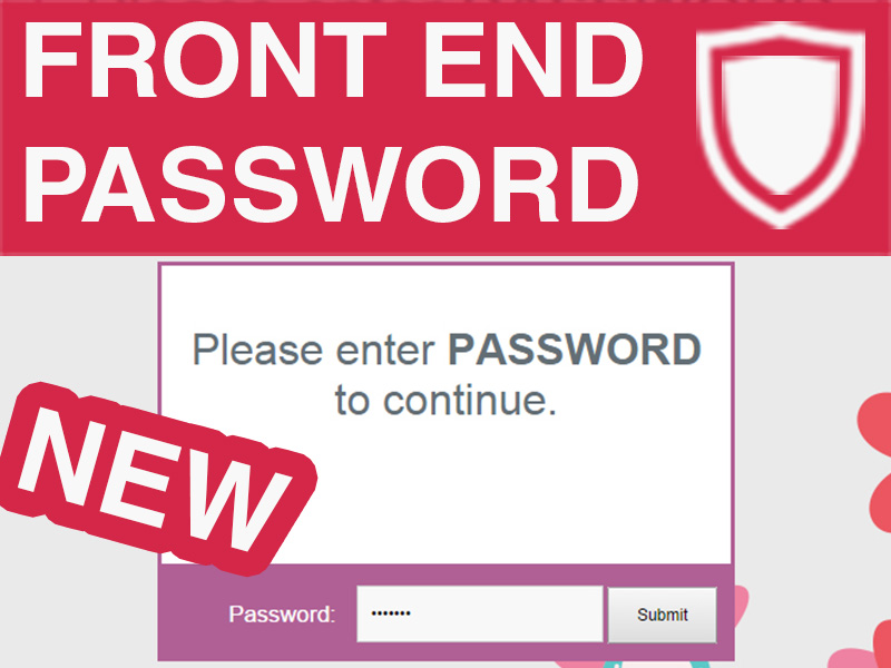 Password Protect Your Front-End