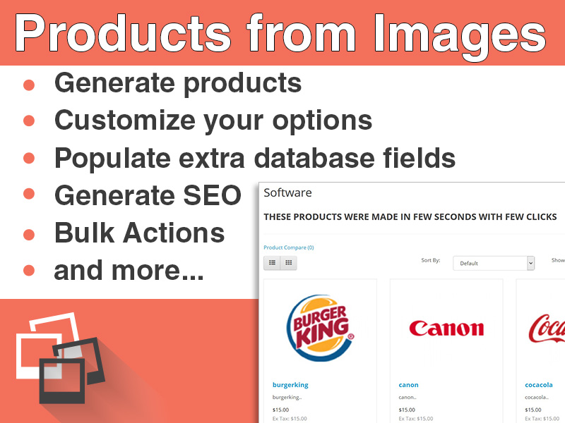 Products from Images