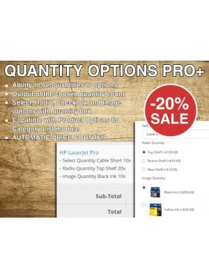 Quantity Options PRO+ AutoPrice
