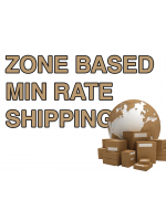 Zone Based Min Rate Shipping Ajax